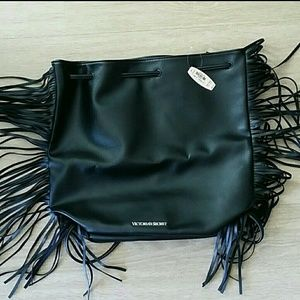Nwt~Victorias Secret Fashion show Fringe Backpack
